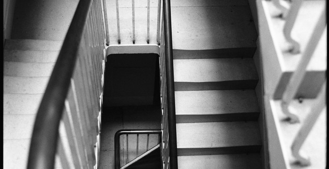 Geometry, Staircase, Wimpole Estate