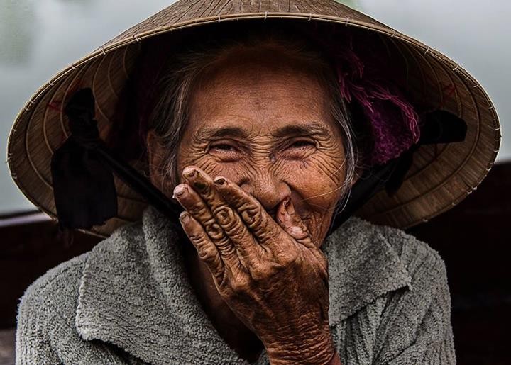 Hidden smile of Vietnam