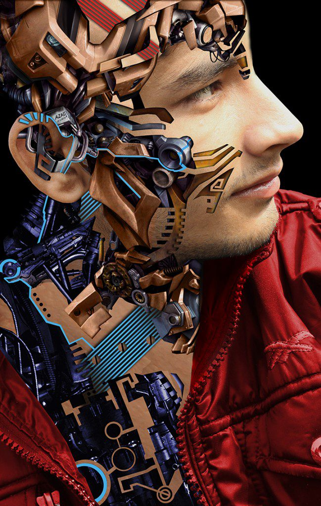 Mechanical portrait series