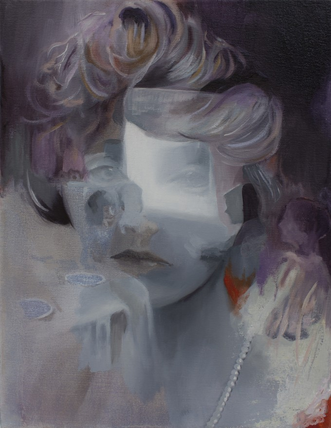 A Breath Of Sorrow, 2015, oil on canvas, 16 x 20'' (41 x 51 cm) www.amaliakouvalis.com