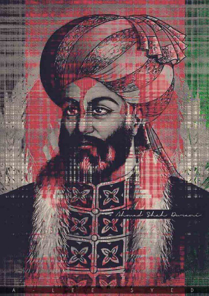 Ahmed Shah Durrani Ahmad Shāh Durrānī, also known as Ahmad Khān Abdālī, was the founder of the Durrani Empire and is regarded as the founder of the modern state of Afghanistan.