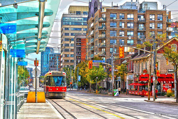 Bathurst Street Car HDR small