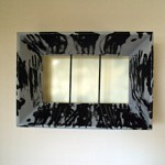 compositions from painting frames,contemporary art,modern art