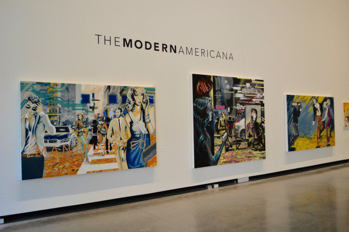 The Modern Americana Show. Works by Dustin Joyce.