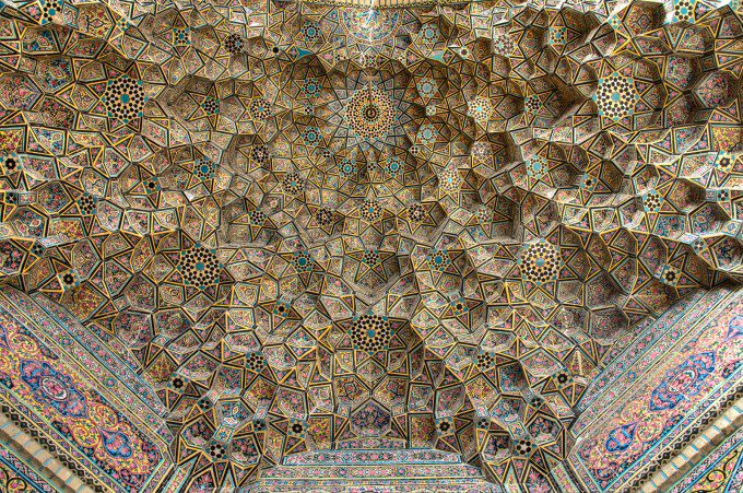 The Ceiling of main Arch