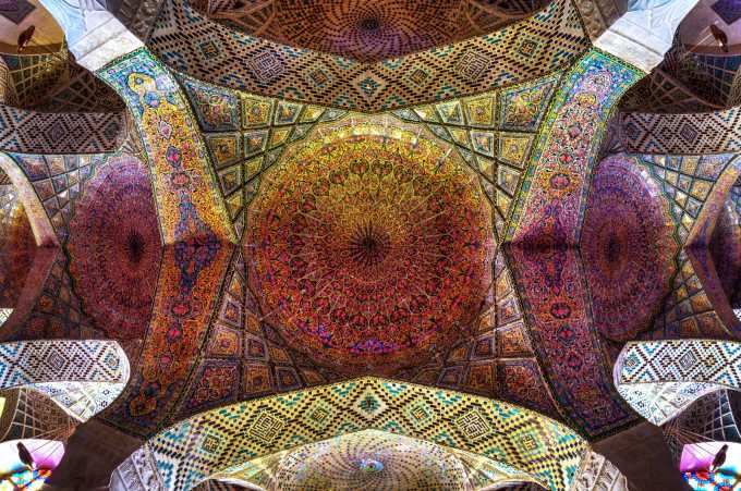The Ceiling Of Colors, Ceilling of Main Bedchamber