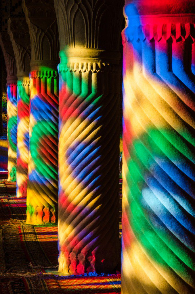 Columns Of Colors