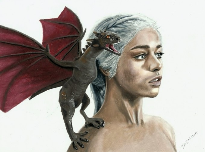 Dragon and Khaleesi