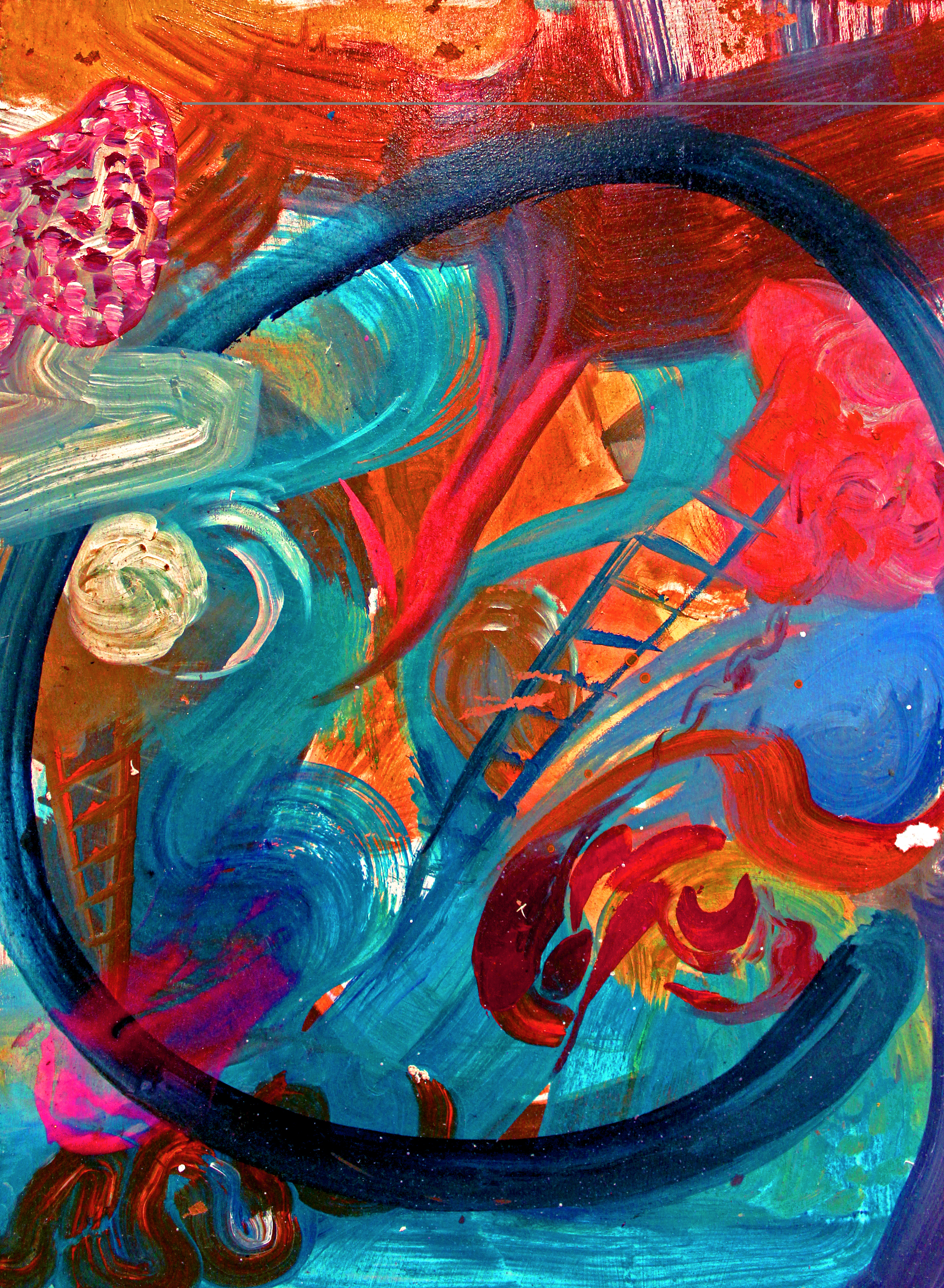 """Artist painted her own imagined """"Mini World"""" inspired by ..."""