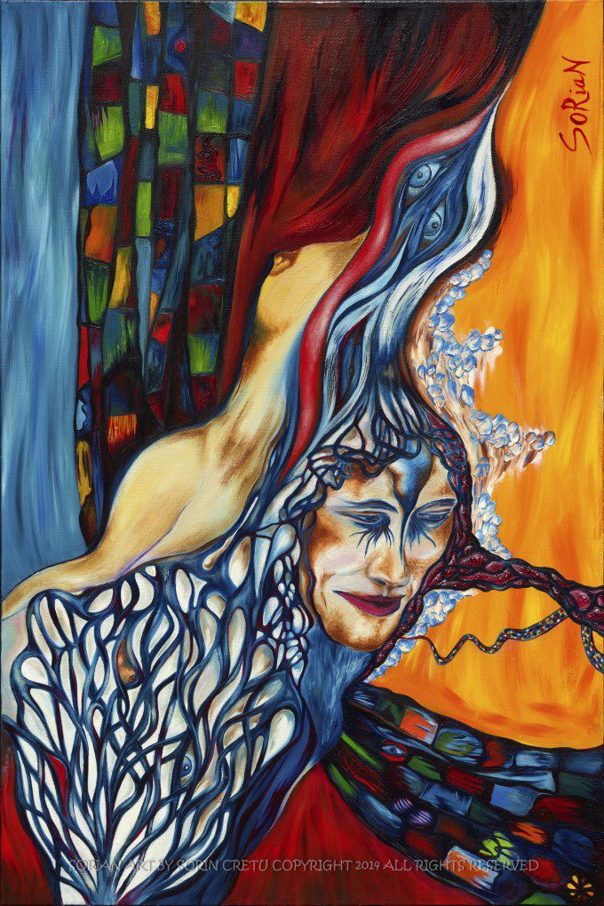 Human enticement.com   SORiaN - Oil on canvas - 2014 Size: 36x24 inch