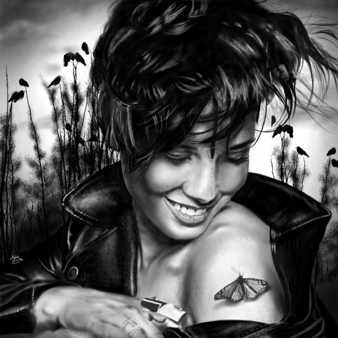 Alicia Keys portrait