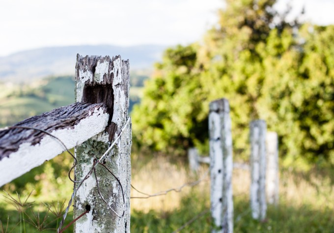 Fence of yesteryear