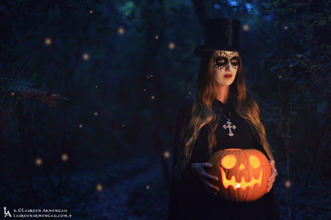 +.the Spirit of Halloween.+ I Model : Emma Svenskja I Lighting Assistant : Christopher Haress I Make Up : Laureen Armengau I © Laureen Armengau