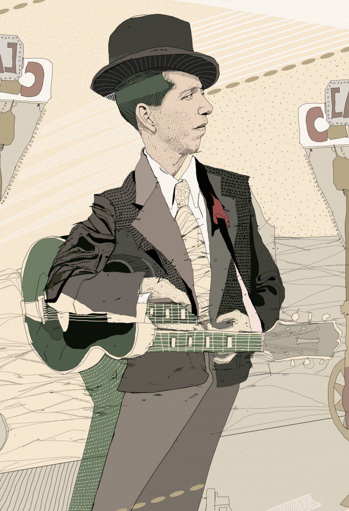 "POKEY LAFARGE 13""x19"" for Firehouse Gallery"