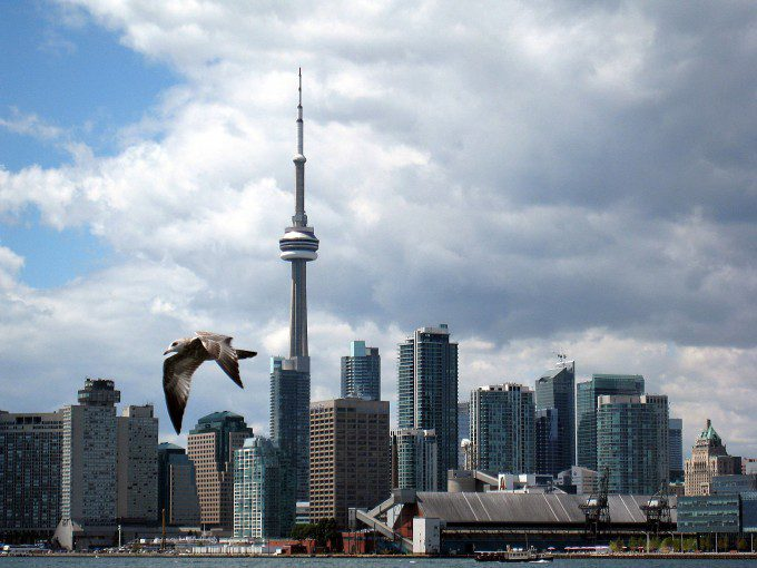 Soaring over Harbourfront high res