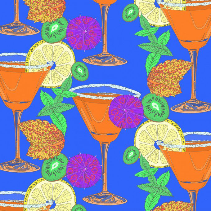 Summer Drinks Design