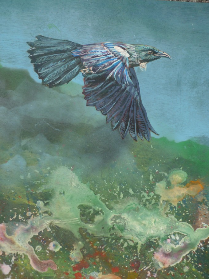 Tui over primordia detail