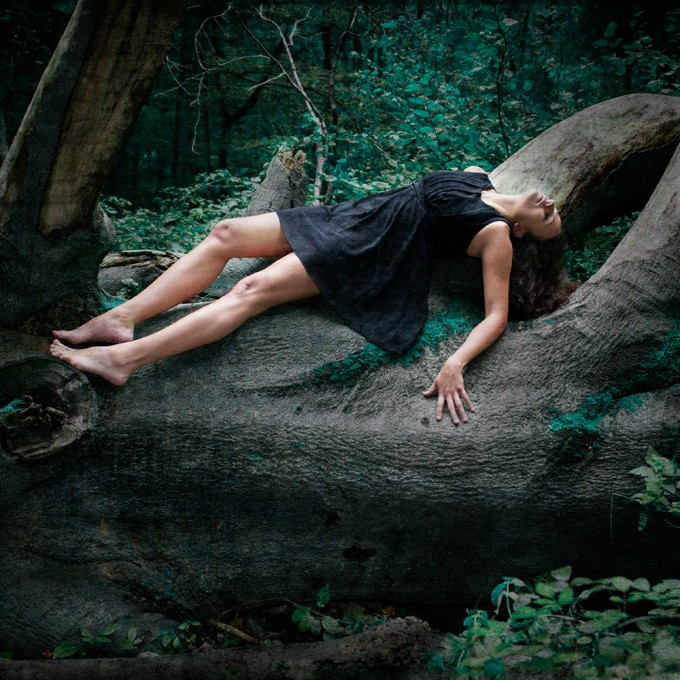 amelie berton-after the battle, getting strength from nature