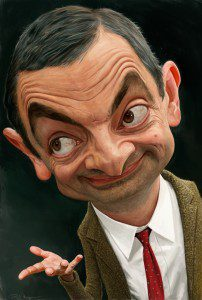 Mr Bean by Paul Moyse