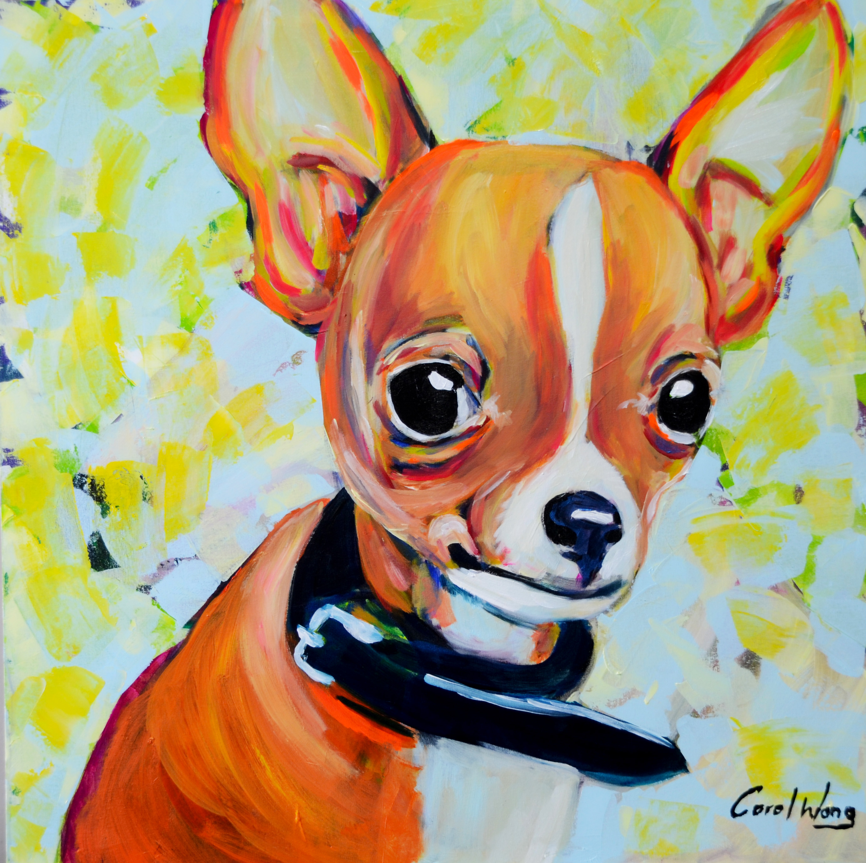 Dogs Portrait Painting Art People Gallery