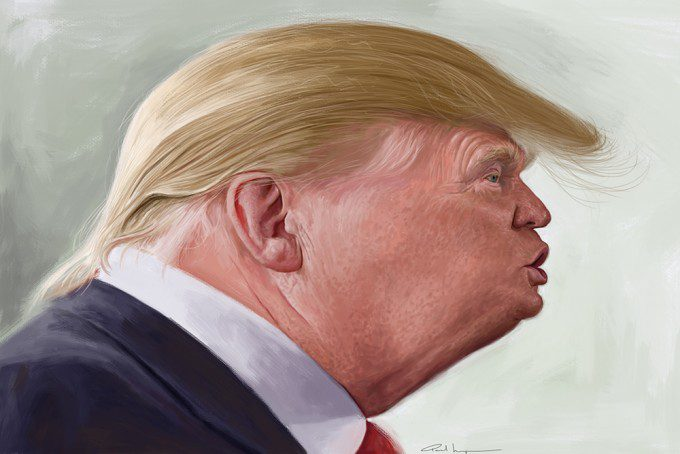 Donald Trump by Paul Moyse