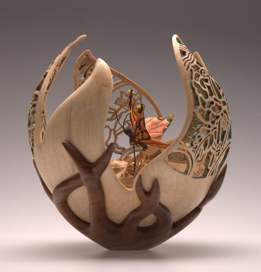 Wood carvings by joey richardson art people gallery