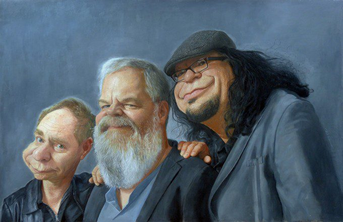 Penn & Teller by Paul Moyse