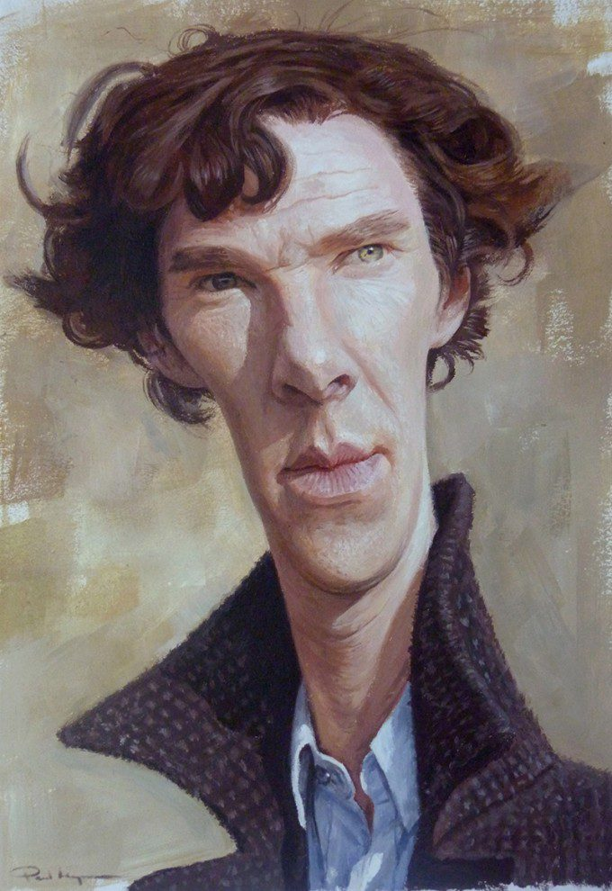 Cumberbatch by Paul Moyse