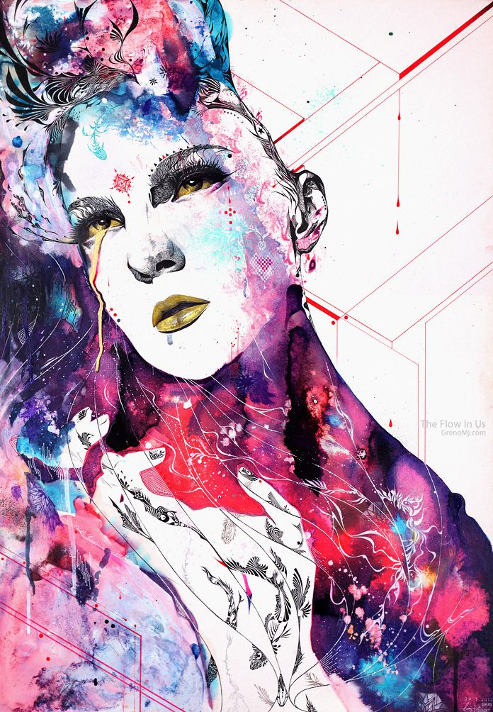 Minjae Lee S Illustrations Art People Gallery