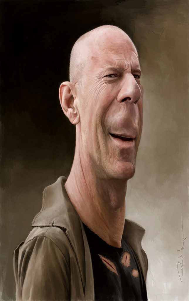 Bruce Willis by Paul Moyse