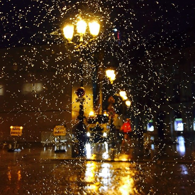 Place Vendôme under the rain