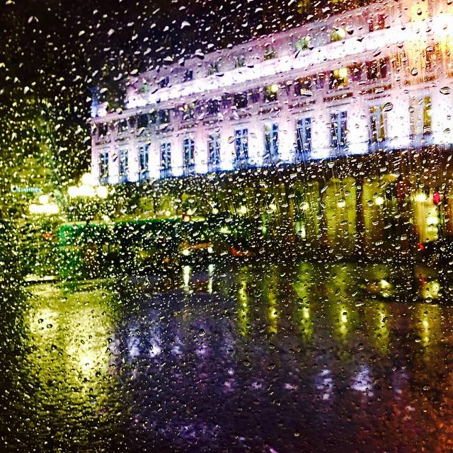 Palais Royal under the rain