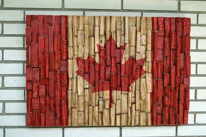 recycled wood art, contemporary wood art
