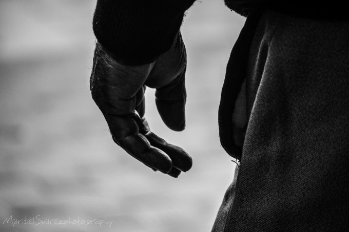 Anonymous hands