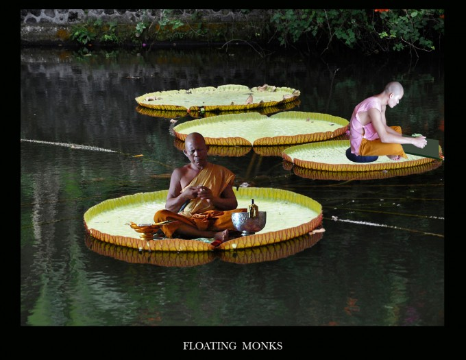 Floating Monks