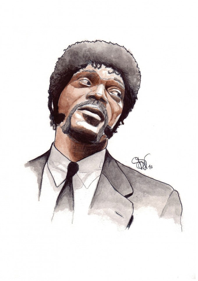 "Samuel L. Jackson in ""Pulp Fiction"""