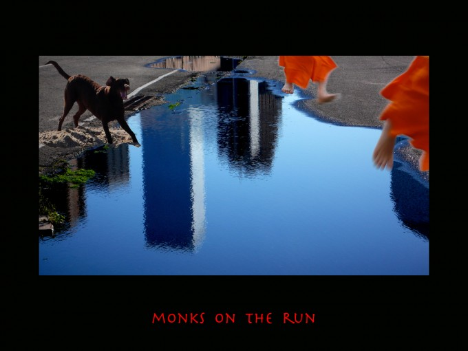MONKS ON THE RUN