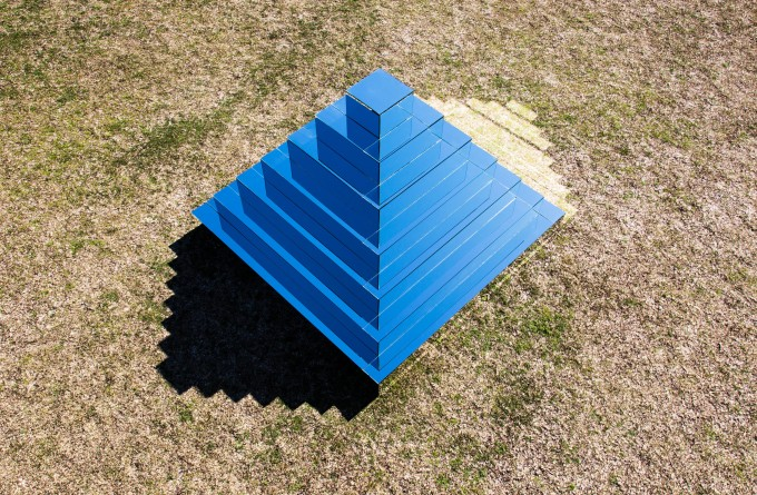 Mirrored Ziggurat _ Shirin Abedinirad _ Installation #1