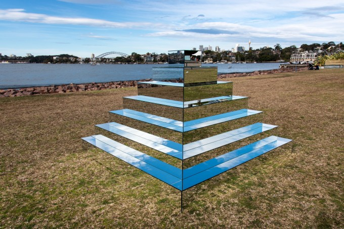Mirrored Ziggurat _ Shirin Abedinirad _ Installation #5