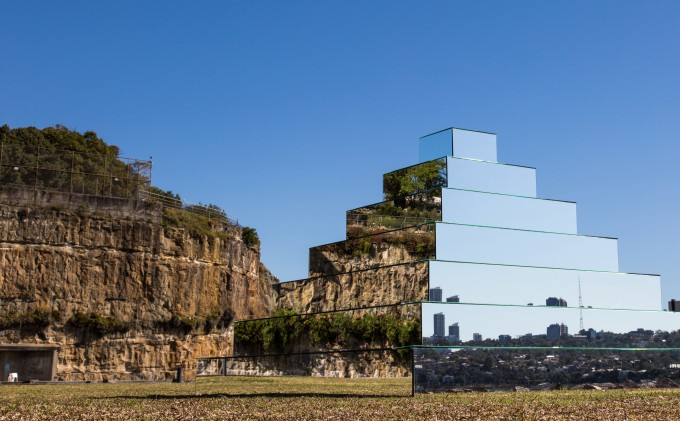 Mirrored Ziggurat _ Shirin Abedinirad _ Installation #6