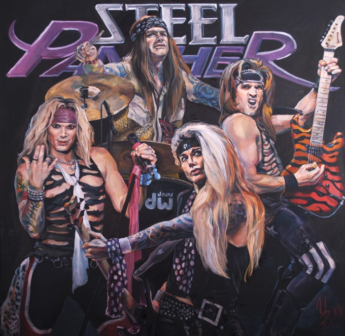 """Steel Panther"""