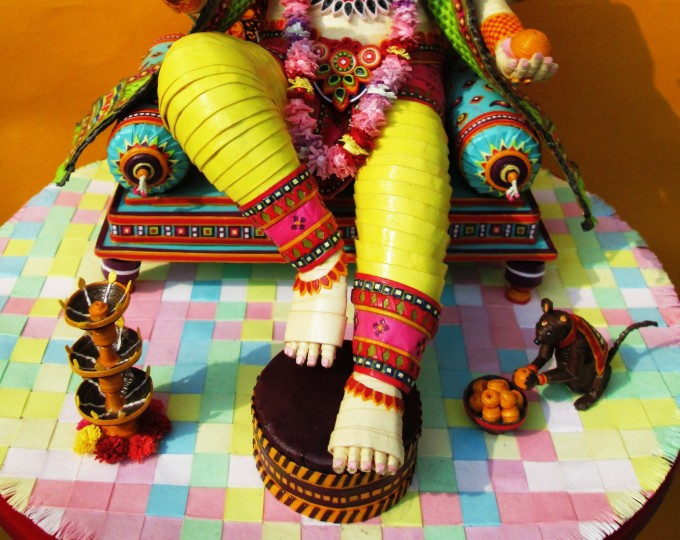 Lord Ganesha- Lower View