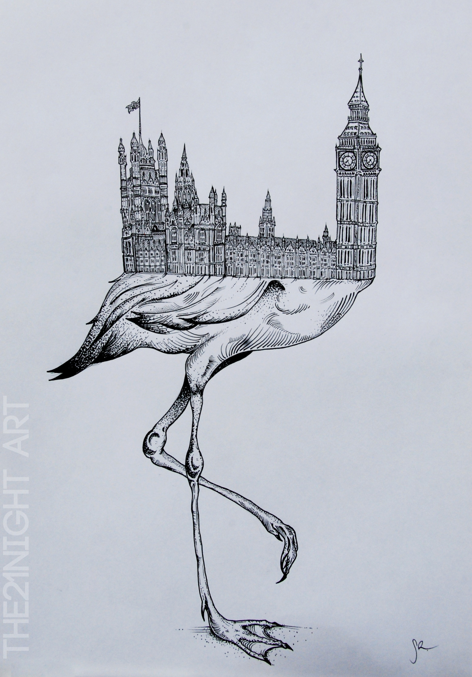 Rare unique animals art people gallery for Unique sketches