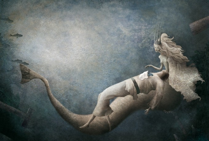 Gabriel Pacheco 1973 - Mexican Surrealist  Visionary painter - Tutt'Art@ (43)
