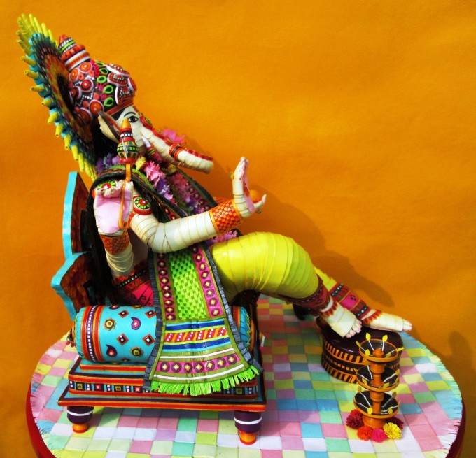 Lord Ganesha- Side View