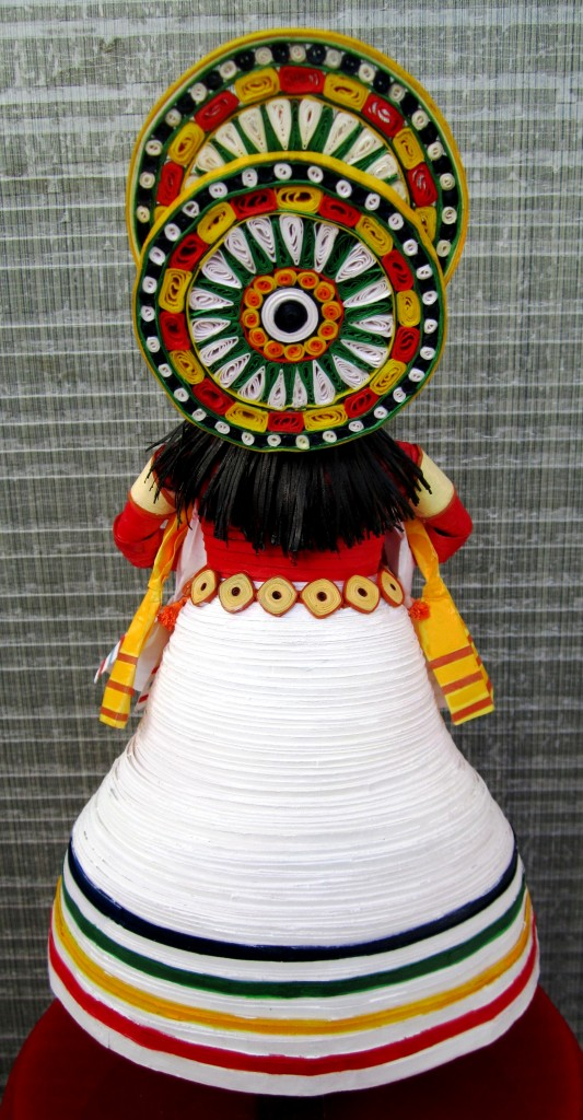 Kathakali  Dancer- Back View