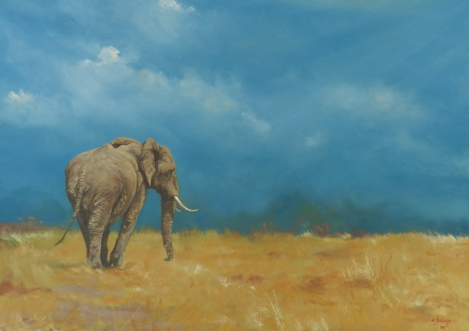 Old Friend - Robert Teeling - www.robteelingart.com