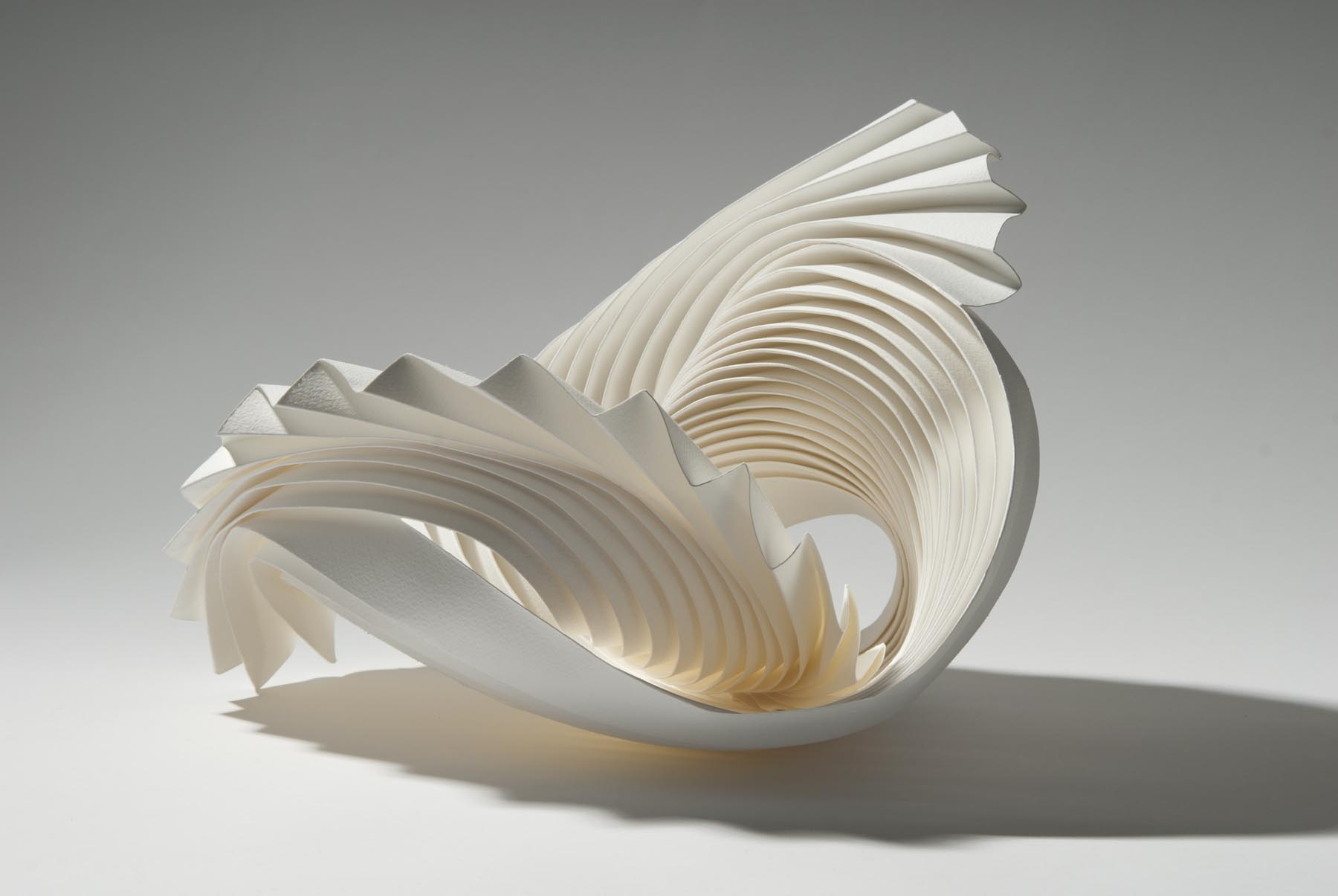 Paper sculptures with no parallel richard sweeney art