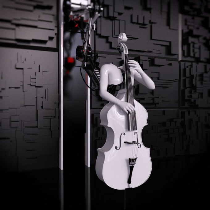 SKNAIL - E-double bass