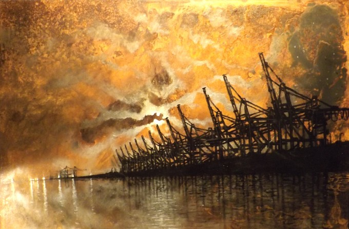 Alessandro Carnevale, Industrial Archealogy, Rust, Industrial Art